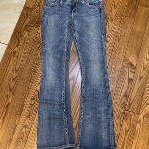 Silver suki flap jeans